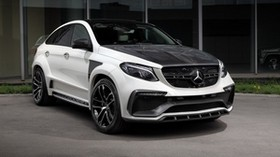 mercedes-benz, gle-class, c292, front view - wallpapers, picture