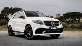 mercedes-benz, gle-class, w166, amg - wallpapers, picture