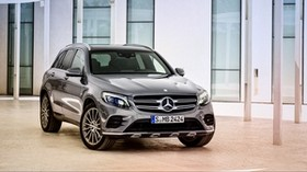 mercedes-benz, glk 350, 4matic, x205, side view - wallpapers, picture