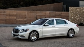 mercedes, maybach, s600, us-spec, x222, side view - wallpapers, picture