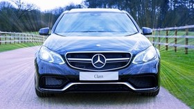 mercedes, mercedes-benz, s-class, front view - wallpapers, picture