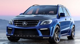 mercedes, ml 63amg, inferno - wallpapers, picture