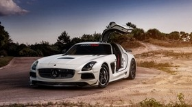 mercedes sls, black series, renntech, tuning - wallpapers, picture