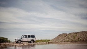 mercedes-benz g500, mercedes, car, SUV, side view, off-road - wallpapers, picture