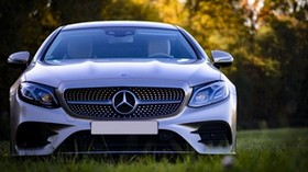 mercedes-benz, mercedes, silver, front view, car, modern - wallpapers, picture