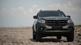 mercedes-benz x250d, mercedes, car, SUV, front view, off road - wallpapers, picture