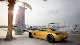 Mercedes Benz, car, style, yellow - wallpapers, picture