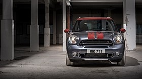 mini cooper, countryman, park lane, front view - wallpapers, picture