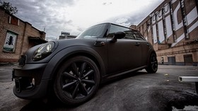 mini cooper wheel side view - wallpapers, picture
