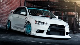 mitsubishi lancer, evo x, tuning - wallpapers, picture