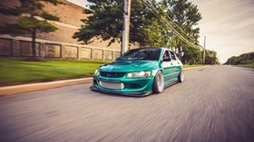 mitsubishi, evo 8, mitsubishi lancer, car, tuning - wallpapers, picture