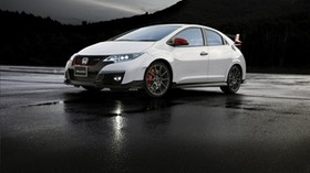modulo, honda, civic, white, side view - wallpapers, picture