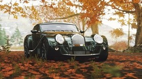morgan aero 8, morgan, car, front view - wallpapers, picture