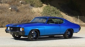 muscle car, chevelle, chevrolet, tuning, side view - wallpapers, picture