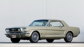 mustang gt coupe, 1965, mustang, auto - wallpapers, picture