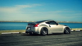 nissan, 370z, jdm, side view - wallpapers, picture