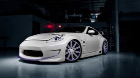 nissan 370z, styling, nissan, tuning, amuse - wallpapers, picture