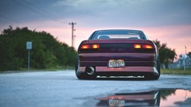 nissan, auto, machine, cars, cars, reflection - wallpapers, picture