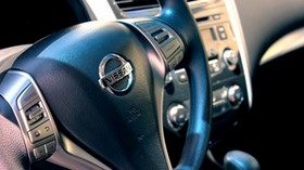 nissan, auto, steering wheel - wallpapers, picture
