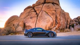 nissan gt 2014, nissan, car, new, side view - wallpapers, picture