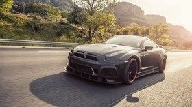 nissan, gt-r, tuning, movement - wallpapers, picture