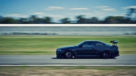 nissan, nissan skyline r34, car - wallpapers, picture