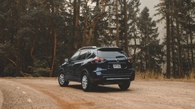 nissan rogue, nissan, crossover, ride, trees - wallpapers, picture