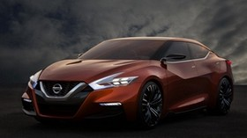 nissan, sport sedan concept, cars, front view - wallpapers, picture