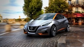 nissan, sway, side view, 2015, concept - wallpapers, picture