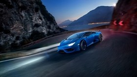 novitec torado, lamborghini, huracan, side view - wallpapers, picture