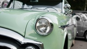 oldtimer, retro, car, lights - wallpapers, picture