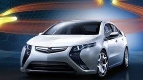 opel, ampera, concept - wallpapers, picture