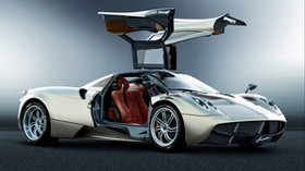 pagani, pagani huayra, side view, car - wallpapers, picture