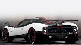 pagani, zonda, cinque, white, roadster - wallpapers, picture