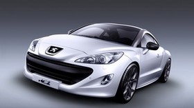 peugeot, rcz, sports car, coupe, front view - wallpapers, picture