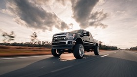 pickup, SUV, movement - wallpapers, picture
