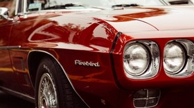 pontiac firebird, car, bumper - wallpapers, picture