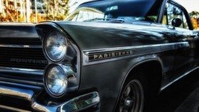 pontiac, parisienne, car, retro - wallpapers, picture