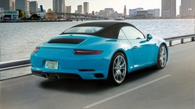 porsche, 911, carrera s, rear view - wallpapers, picture