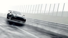 porsche 911 gt2 rs, porsche 911, porsche, sports car, racing, fog - wallpapers, picture