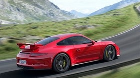 porsche 911 gt3, auto, machine, cars, cars, mountains, speed - wallpapers, picture
