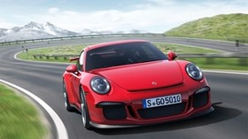 porsche 911 gt3, auto, machine, cars, cars, turn, red - wallpapers, picture