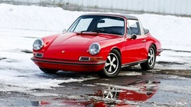 porsche, 911, targa, 1969, auto - wallpapers, picture