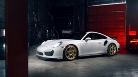 porsche, 911, turbo s, side view - wallpapers, picture