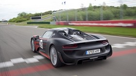 porsche 918, porsche, car, road, speed - wallpapers, picture