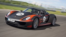 porsche 918, porsche, car, speed, sports car - wallpapers, picture