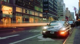 porsche, car, city, street - wallpapers, picture