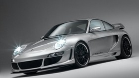 porsche, car, silver, sports - wallpapers, picture