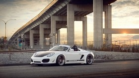 porsche, boxster, spyder - wallpapers, picture