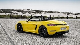 porsche, boxster, yellow, convertible - wallpapers, picture